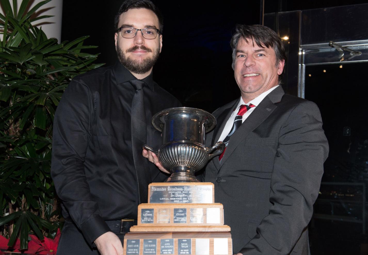 Alex Donaldson Award image