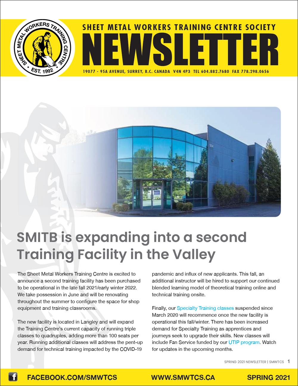 Spring 2021 SMWTCS Newsletter